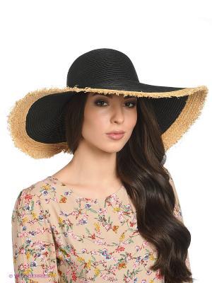 Шляпа Vero moda. Цвет: черный