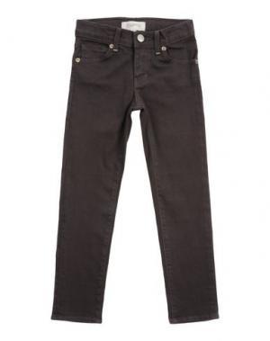 Джинсовые брюки ESP No.1. Цвет: темно-коричневый