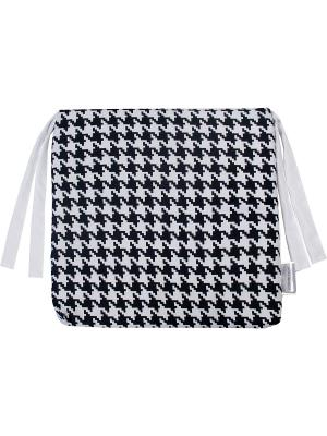 Сидушка декоративная 40*40, принт Черный/Белый Dorothy's Нome. Цвет: черный, белый