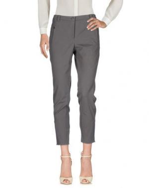 Повседневные брюки CAMBIO. Цвет: свинцово-серый