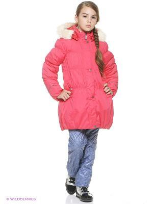 Куртка для девочки Cherubino. Цвет: розовый