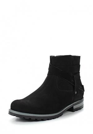 Ботинки Bekerandmiller. Цвет: черный