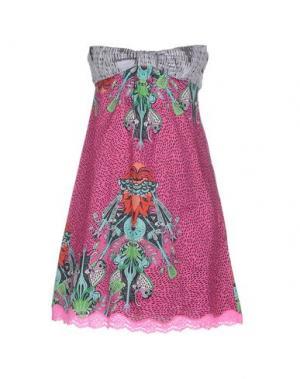 Короткое платье CUSTO BARCELONA. Цвет: светло-фиолетовый