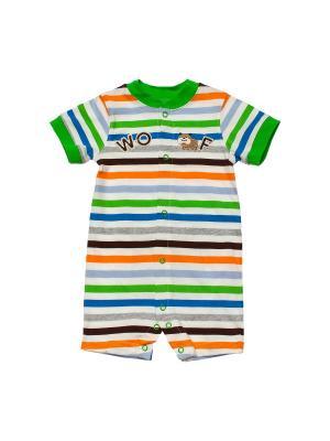 Песочник KAMACAR. Цвет: зеленый, белый, оранжевый