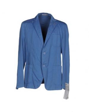 Пиджак MANUEL RITZ WHITE. Цвет: пастельно-синий
