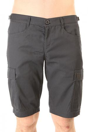 Шорты классические  Cargo Shorts Strap Grafite Skills. Цвет: серый