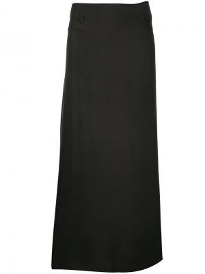 Длинная юбка Cherevichkiotvichki. Цвет: зелёный