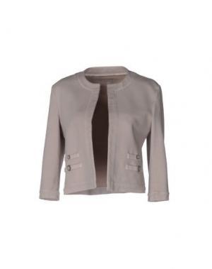 Пиджак CIRCOLO 1901. Цвет: голубиный серый