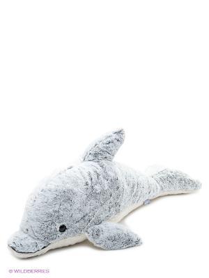 Мягкая игрушка Дельфин Грэй,  80 АБВГДЕЙКА. Цвет: серый