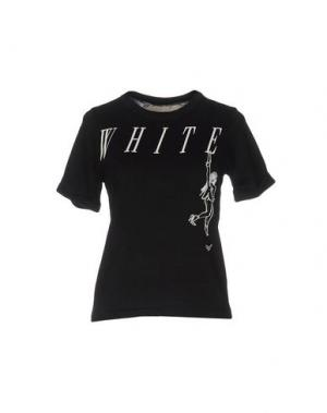 Свитер OFF WHITE C/O VIRGIL ABLOH. Цвет: черный