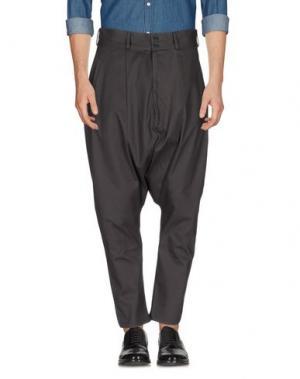 Повседневные брюки NUMERO 00. Цвет: свинцово-серый