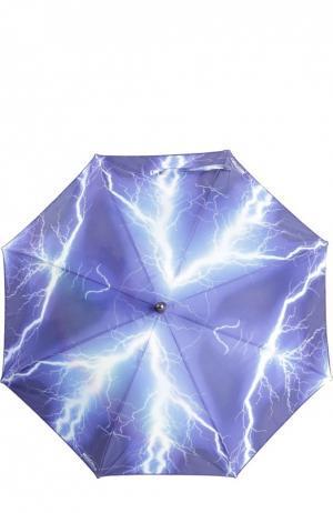 Зонт Moschino. Цвет: разноцветный