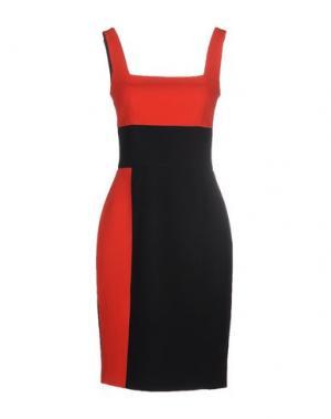 Короткое платье FAUSTO PUGLISI. Цвет: красный