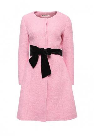 Пальто TrendyAngel. Цвет: розовый