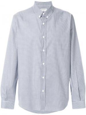 Рубашка Oxford Éditions M.R. Цвет: синий