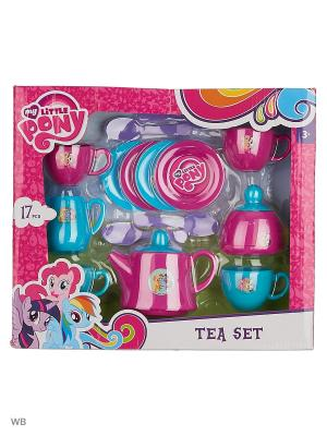 Чайный набор  My Little Pony HTI. Цвет: лазурный, морская волна, розовый, фуксия