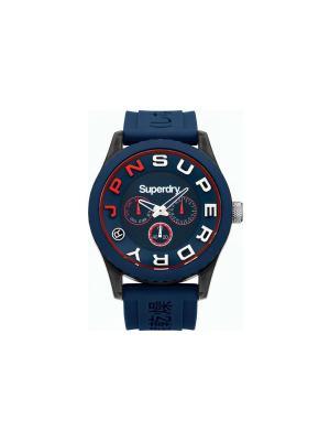 Часы Superdry. Цвет: темно-синий