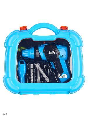 Набор инструментов Smart HTI. Цвет: темно-синий, лазурный, синий