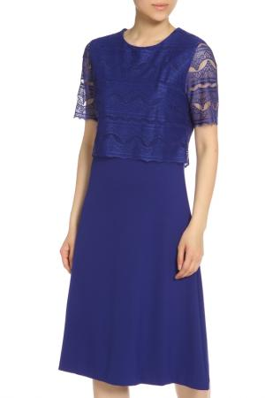 Платье Escada. Цвет: синий