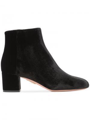 Ботинки Brooklyn Aquazzura. Цвет: чёрный