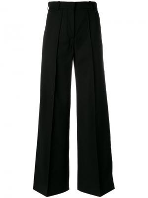 Строгие широкие брюки Racil. Цвет: чёрный