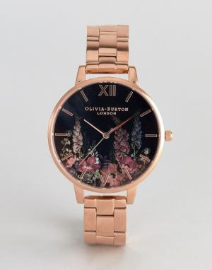 Olivia Burton Наручные часы цвета розового золота OB16WG45. Цвет: золотой