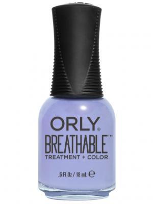 Профессиональный дышащий уход (цвет) за ногтями 918 JUST BREATHE ORLY. Цвет: сиреневый