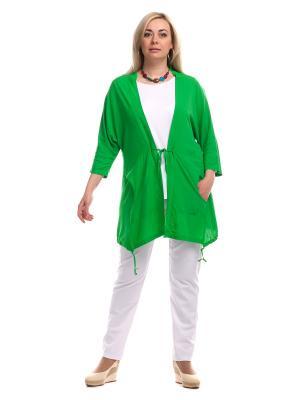 Кардиган OLSI. Цвет: зеленый