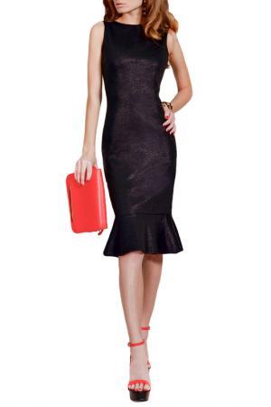 Платье FRANCESCA LUCINI. Цвет: черный блеск