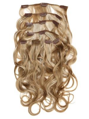 Накладные волосы, пряди на заколках-клипсах Livi VIP-PARIK. Цвет: бежевый, светло-желтый