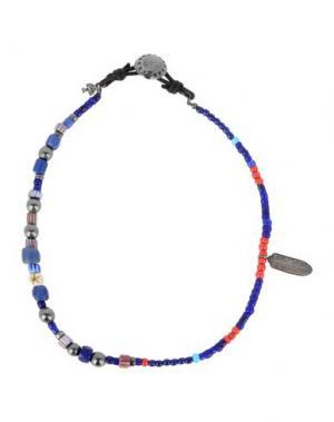 Ожерелье PEYOTE BIRD. Цвет: синий