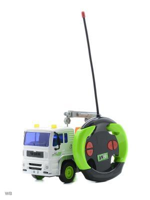Машина р/у грузовик- мусоровоз с манипулятором Drift. Цвет: зеленый