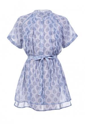 Блуза JN. Цвет: голубой