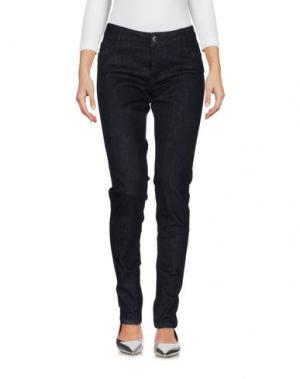 Джинсовые брюки MAJE. Цвет: синий