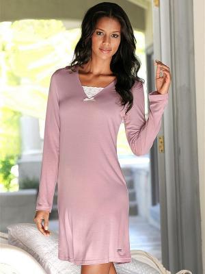 Платье Marie Claire. Цвет: бледно-розовый