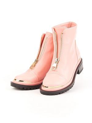 Ботинки HAVIN. Цвет: розовый