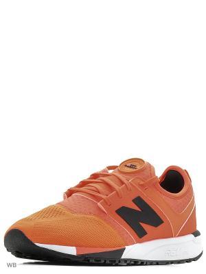 Кроссовки 247 Sport New balance. Цвет: оранжевый
