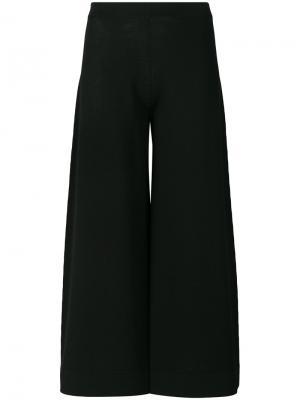 Mid rise culottes D.Exterior. Цвет: чёрный