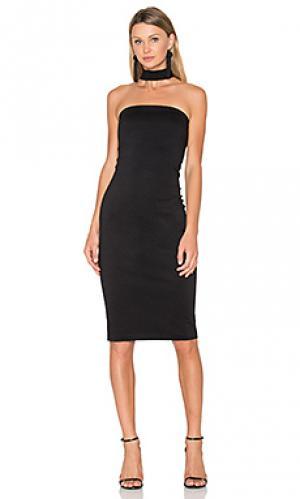 Платье kimora Amanda Uprichard. Цвет: черный