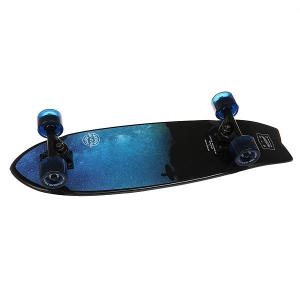Скейт мини круизер  Surf Sibiria 8.25 x 27 (68.5 см) Eastcoast. Цвет: черный,синий