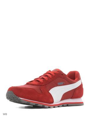 Кроссовки ST Runner NL Puma. Цвет: красный