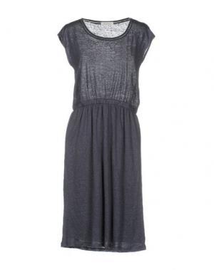 Платье до колена BELLA JONES. Цвет: грифельно-синий