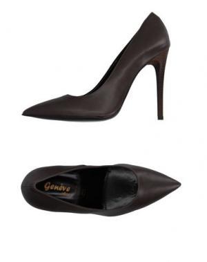 Туфли GENEVE. Цвет: серый