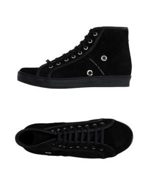 Высокие кеды и кроссовки ALESSANDRO DELL'ACQUA. Цвет: черный