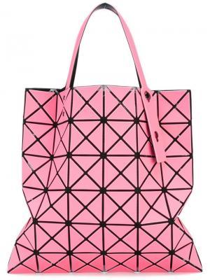 Сумка-тоут Prism Bao Issey Miyake. Цвет: розовый и фиолетовый