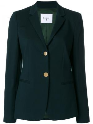 Button-down blazer Dondup. Цвет: зелёный