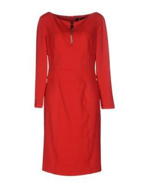 Платье до колена 22 MAGGIO BY MARIA GRAZIA SEVERI. Цвет: красный