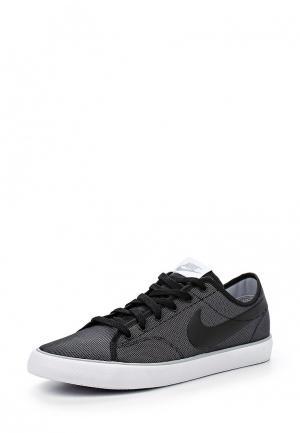 Кеды Nike. Цвет: черно-белый