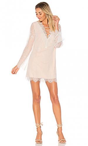 Платье the charlotte CAMI NYC. Цвет: белый