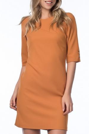 Платье NARAMAXX. Цвет: оранжевый